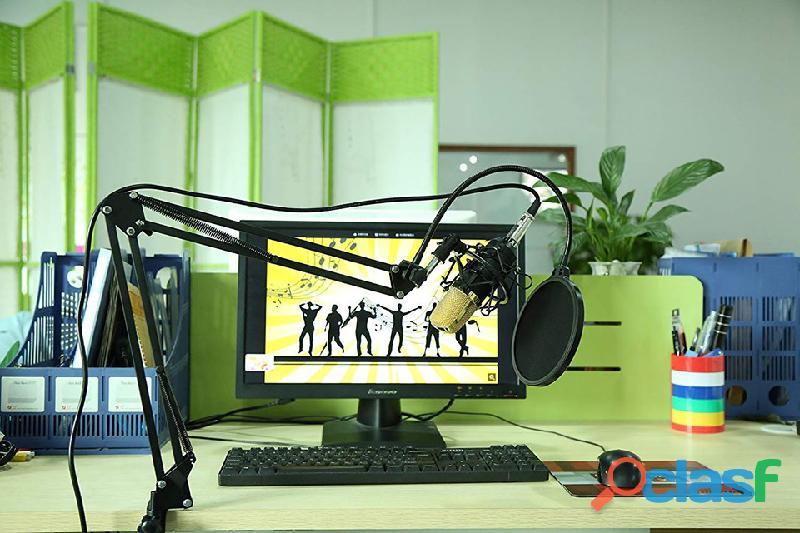 kit de micrófono condensador profesional para estudio 5