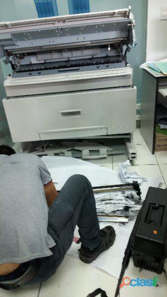 Reparacion copiadora plano , ricoh , xerox ,hp