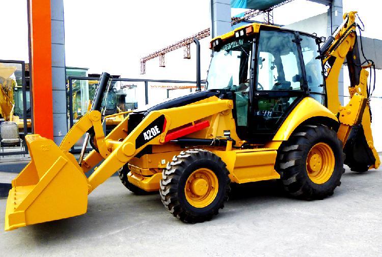 vendo retroexcavadora CAT 420E 2009