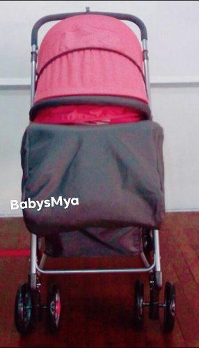 Coche cuna flip baby kits rosado