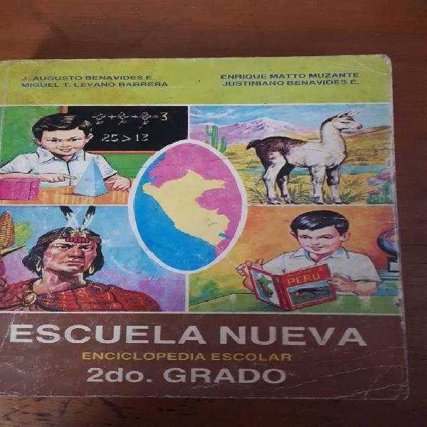 Enciclopedia escuela nueva 2do grado