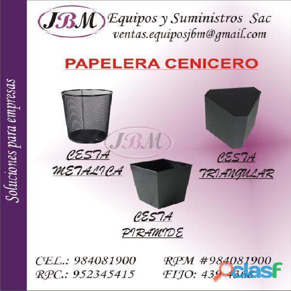 Tachos de basura / Papeleras / Lima