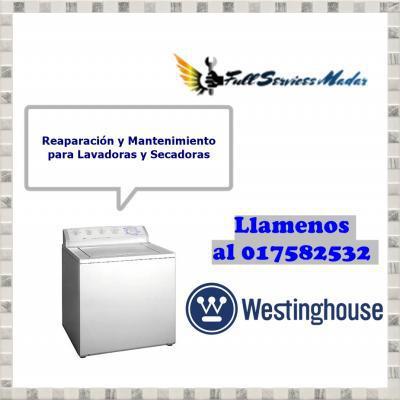 017582532 lavadoras servicio tecnico westinghouse