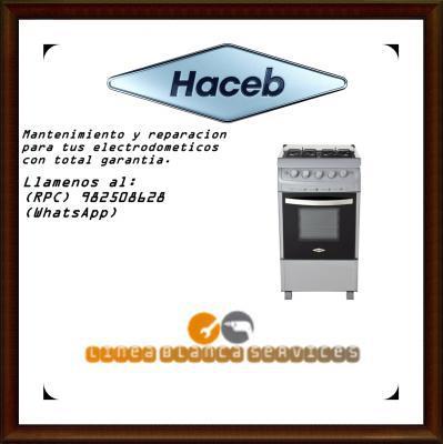 982508628 servicio tecnico mantenimiento cocinas haceb en