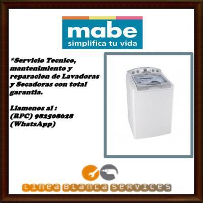 982508628 servicio tecnico mantenimiento lavadoras mabe lima