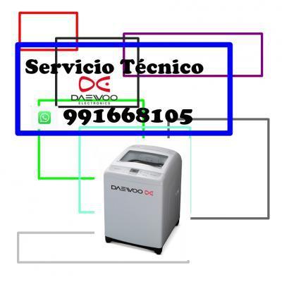 991668105 servicio tecnico lavadoras daewoo digitales