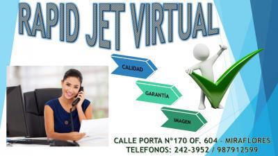 Alquiler oficinas virtuales administrativas en miraflores