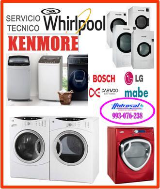 Asistencia de lavadoras whirlpool y mantenimiento