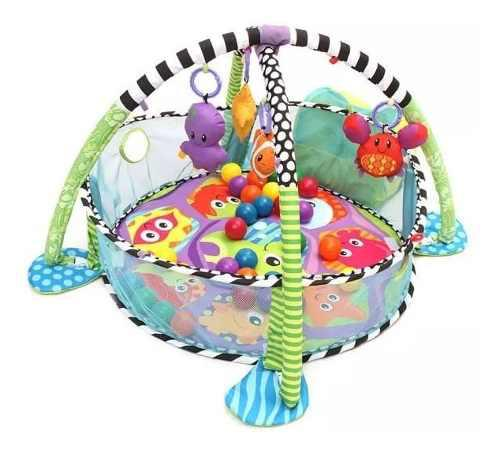 Baby play set actividad gym con alfombra- micromaster