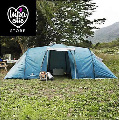Carpa para 8 personas camping alta montaña