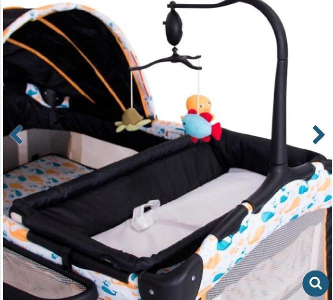 Cuna corral para bebe ebaby musical