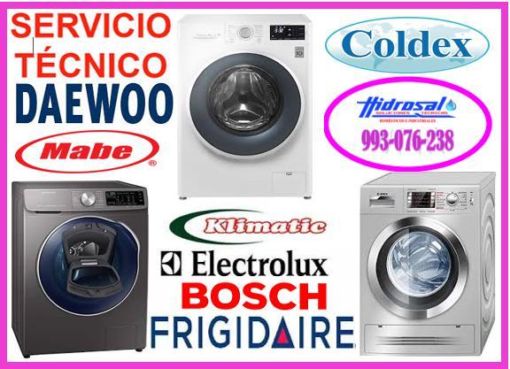 Daewoo reparaciones de lavadoras daewoo
