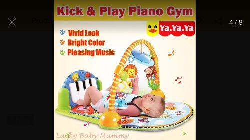 Gymnasio pataditas musical para bebés