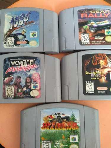 Juegos De Nintendo 64 / N64- 5 Juegos