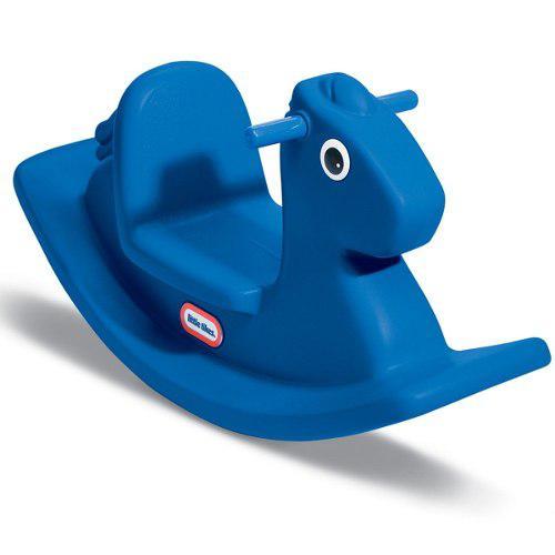 Little tikes - balancin rocking horse - azul