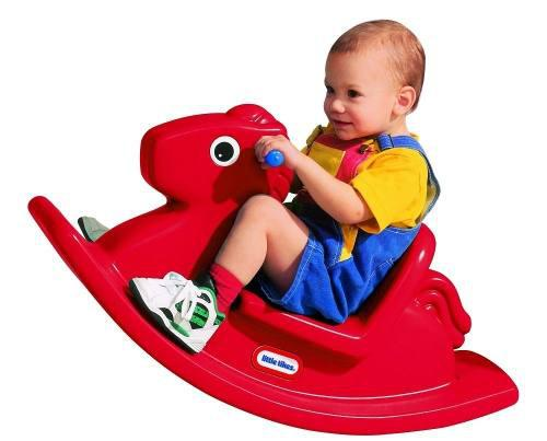 Little tikes - balancín rocking horse rojo