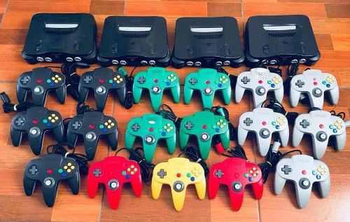 Nintendo 64 +mando +fuente +cableav