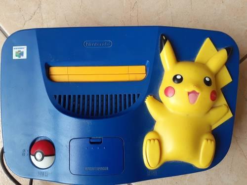 Nintendo N64 Pikachu Americano + Juego. Omerflo