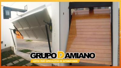 Puertas automáticas levadizas grupo damiano perú e.i.r.l