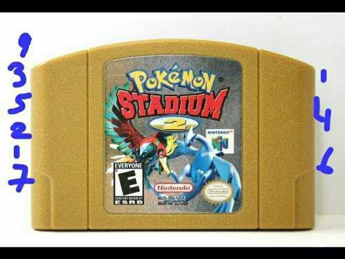 Pokemon Stadium 2 Regalado