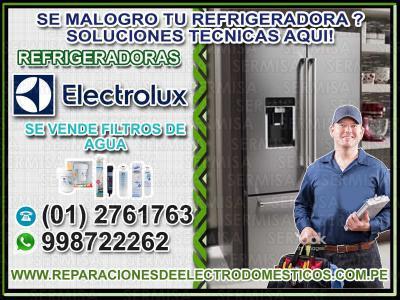 Professionals! reparacion de refrigeradoras electrolux
