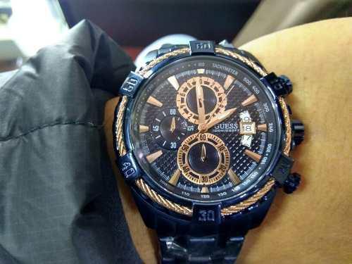 Reloj guess w0522g3 cronografo azul