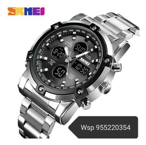 Reloj Skmei 1389 De Acero Inoxidable Para Hombre