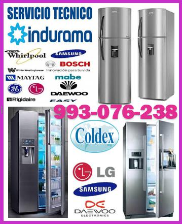 Reparaciones de refrigeradoras coldex y mantenimientos