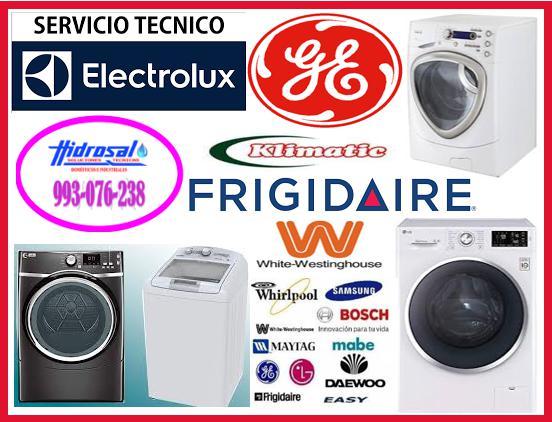 Reparaciones de secadoras electrolux y mantenimientos