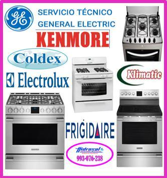 Reparaciones kenmore y mantenimientos de cocinas a gas