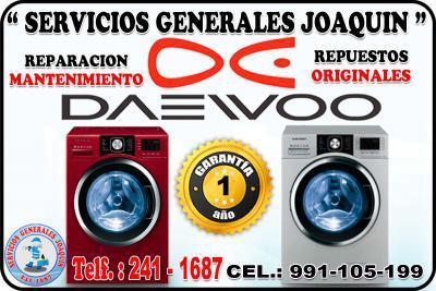 Servicio técnico •.¸ daewoo ¸.• lavadoras, lavasecas,