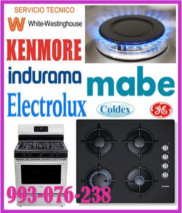 Servicio técnico de cocinas a gas kenmore 993-076-238