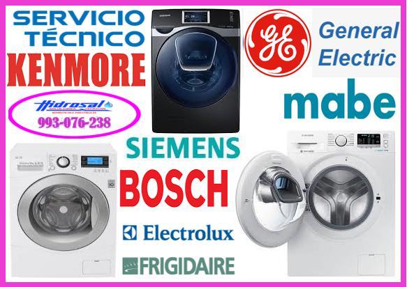 Servicio técnico de lavadoras bosch y reparaciones