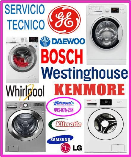 Servicio técnico de lavadoras general electric 993076238