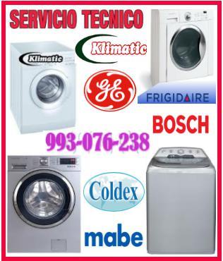 Servicio técnico de lavadoras klimatic 993076238
