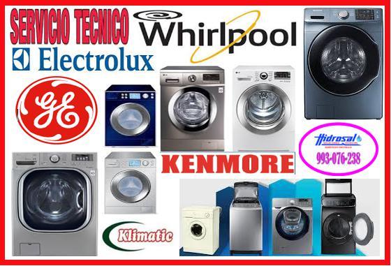 Servicio técnico de lavadoras whirlpool 993076238