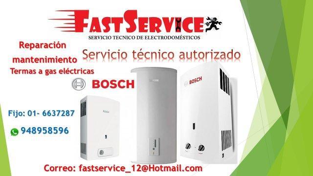 Servicio técnico reparación para termas a gas eléctricas