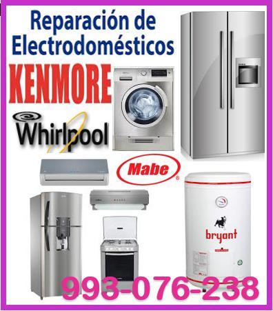 Servicio tecnico de refrigeradoras kenmore 993076238