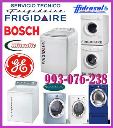 Servicio tecnico frigidaire reparaciones de lavadoras