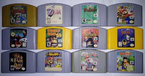 Smash Mario Kart Conkers Pokemon Nintendo 64 N64 Ver Precios