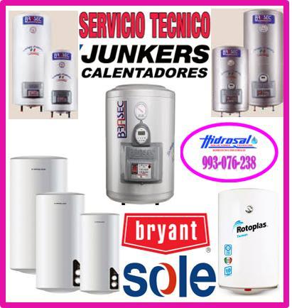 Termas junkers servicio tecnico de termas y reparaciones