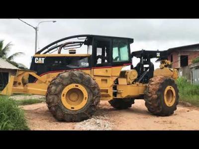 Tractor 525B Catarpilar Importado de USA