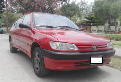 VENDO PEUGEOT 306 XN HATCHBACK 95 MECANICO 1400CC