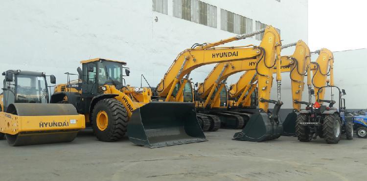 Vendo Excavadoras hidráulicas Hyundai y otros.