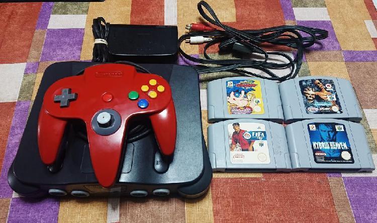 Vendo Nintendo 64 Pal Europeo N