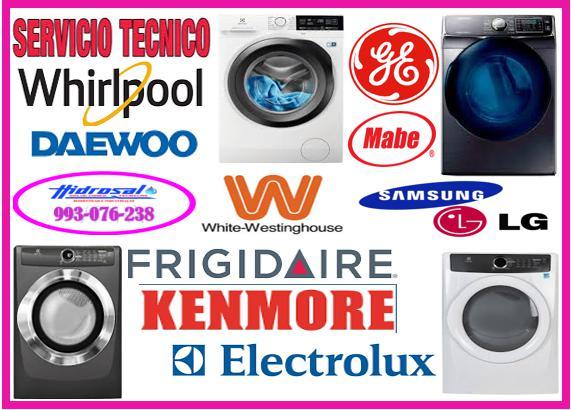 Whirlpool servicio tecnico de lavadoras 993076238