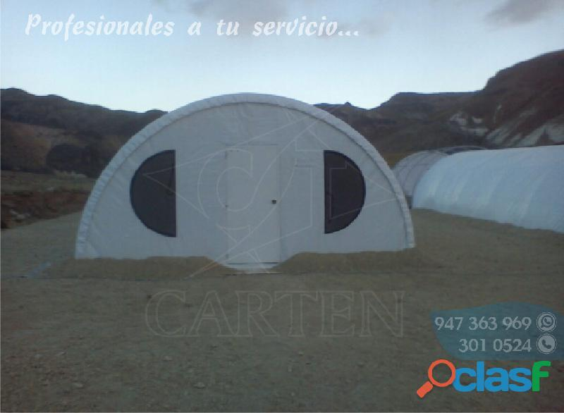 Mejores Estructuras Campamentos y Carpas Igluu Carten Perú