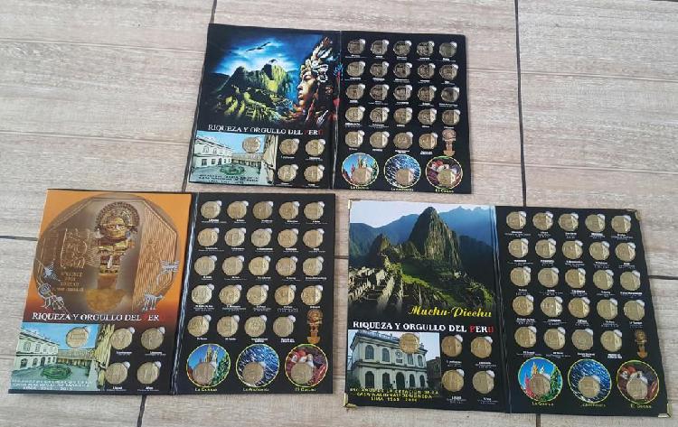 Colección riqueza y orgullo del perú monedas 32 monedas