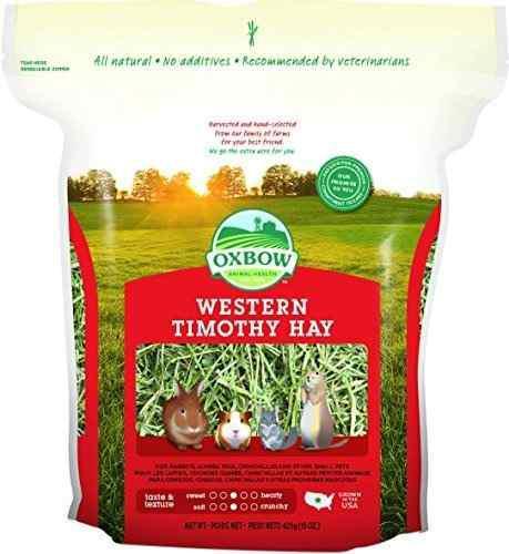 Oxbow animal health western timothy hay para mascotas 15 onz