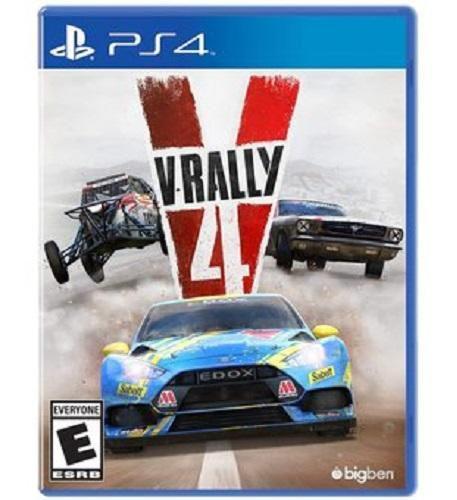V-rally 4 ps4 nuevo disponible